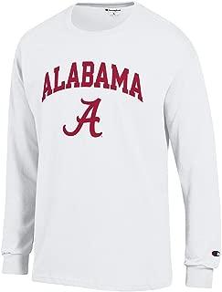 Elite Fan Shop NCAA Men's Long Sleeve Shirt White