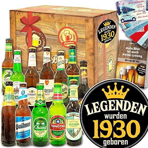 Legenden 1930 ++ Bier Geschenk Welt und DE ++ Geburtstag Geschenk Mann