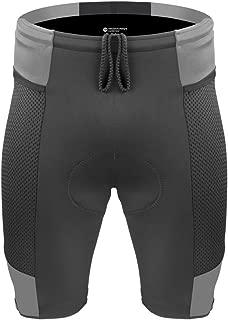 Aero Tech Men's Gel Padded Touring Shorts w Innovative Mesh Pockets