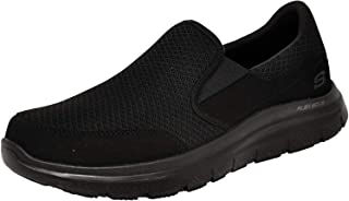 SKECHERS Flex Advantage Sr- Mcallen, Men's Uniforms, Work & Safety Shoes, Black