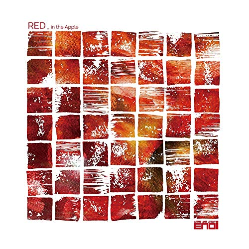 KAKAO M ENOi - RED IN The Apple (1st Mini Album) Album+Folded Poster