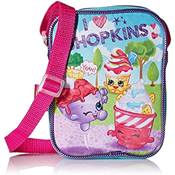 Shopkins Girls Pa Crossbody, blue | Shopkin.Toys - Image 1