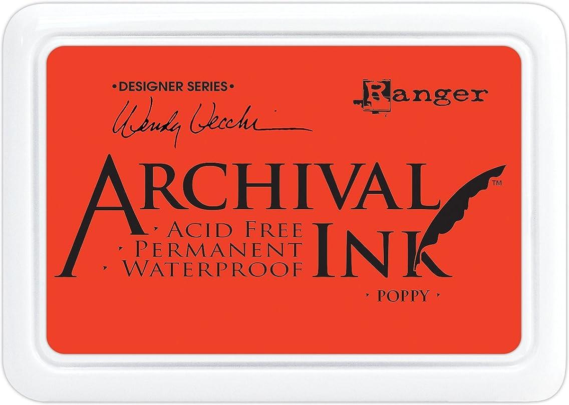 Ranger Poppy Wendy Vecchi Archival Ink Pad