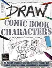 Draw Comic Book Characters (Book House Draw Series)