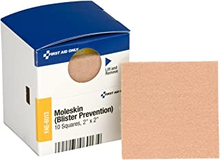 First Aid Only Pac-Kit Moleskin Blister Prevention, 10 Count