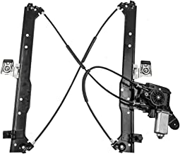 Power Window Lift Regulator & Motor Assembly Drivers Rear Replacement for Chevrolet Cadillac GMC Pickup Truck 19301981