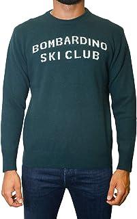 Saint Barth Maglia MC2 Uomo Heron Ski v Ski 6141 her0003 vsky64 cachmere Lana Rossa AI19