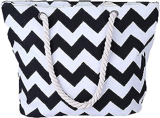 TianYaOutDoor Tote Bag for Women Lightweight Boho Weekender Bag Canvas Travel Bag Tote Yoga Gym Beach Overnight Bag