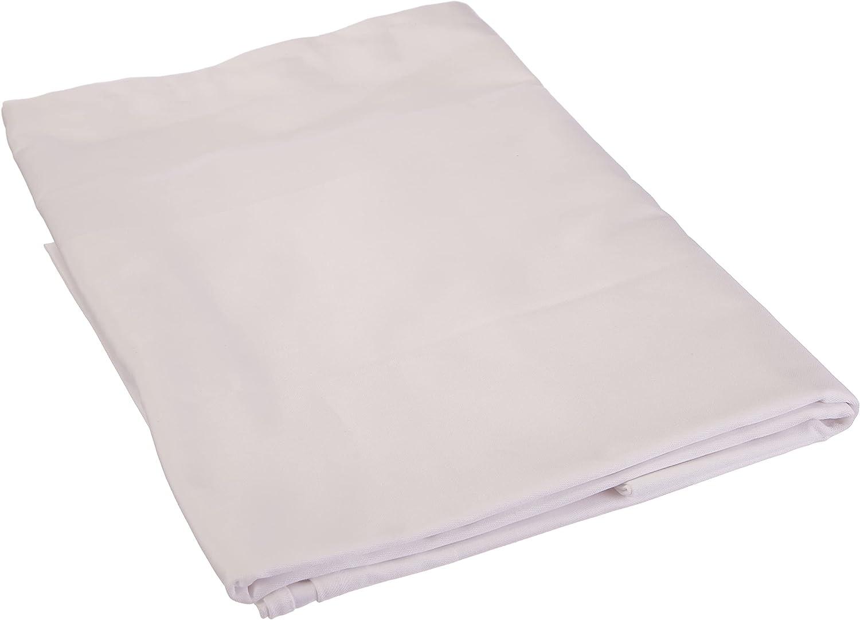 Fleuresse 9820 FB. 1000 - Mantel (130 x 170 cm, Tela adamascada con Borde de Raso), Color Blanco