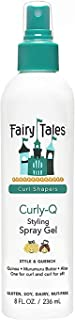 Fairy Tales Curly-Q (Curly Hair Gel) Daily Kid Styling Spray Gel - For Curly Hair - Paraben Free, Sulfate Free, Gluten Fre...