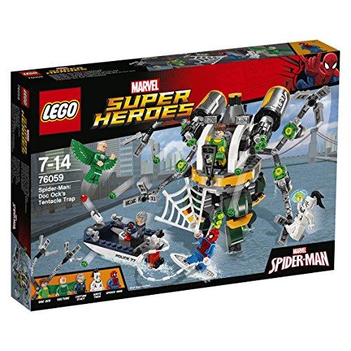 LEGO Marvel Super Heroes Spider-Man: Trampa tentaculosa de Doc Ock - Juegos de construcción, 7 año(s), 446 Pieza(s), Cómics, Niño, 14 año(s)