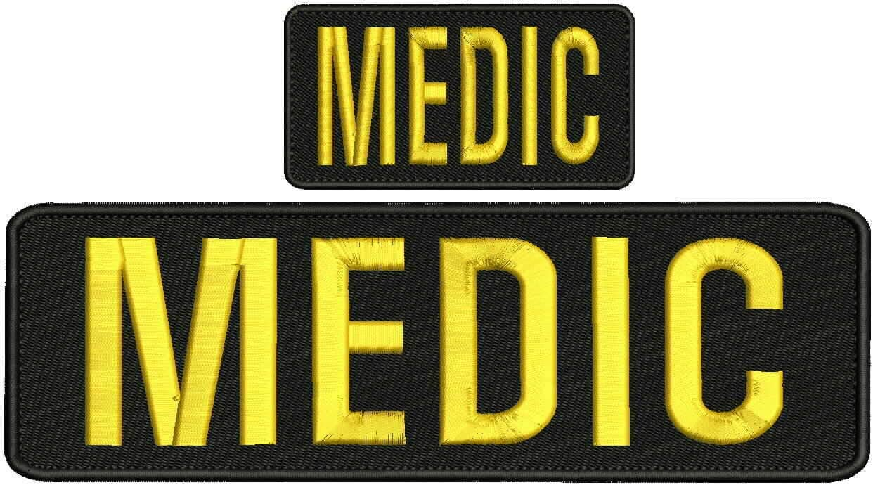 Embroidered Patch - Patches Very popular for Women Black Bac Medic Man Hook It is very popular