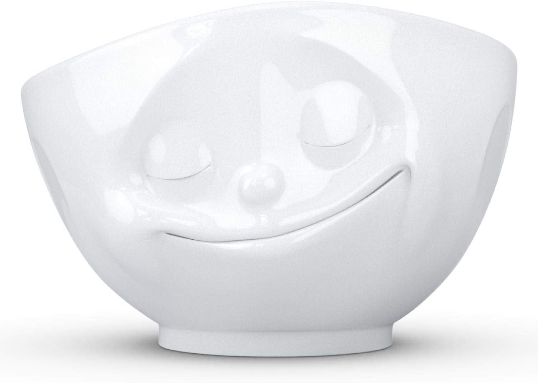TASSEN XL Porcelain Bowl Happy Face Edition White oz. 35% OFF Max 77% OFF 33 Sing