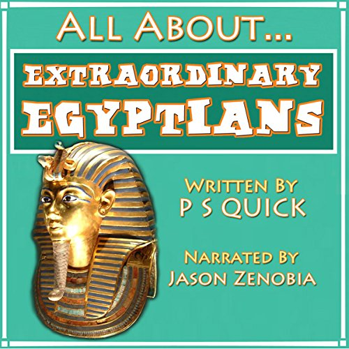 All About: Extraordinary Egyptians audiobook cover art