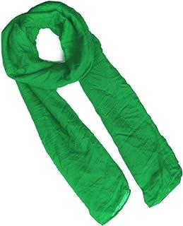 スワンユニオン swanunion メンズ ストール シンプル スリム 大判 グリーン 緑 sk56-va2