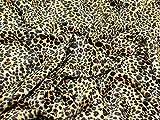 Minerva Crafts Animal Print Polyester Velboa Stoff