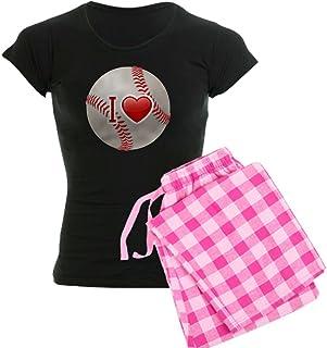 Royal Lion Women's Dark Pajamas I Love Baseball