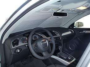 The Original Windshield Sun Shade, Custom-Fit for Audi A4 Sedan 2009, 2010, 2011, 2012, 2013, 2014, 2015, 2016, Silver Series