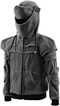 Big Boys Kids Arthur kinght Hoodie Medieval Armor Sweatshirt Jacket Costume