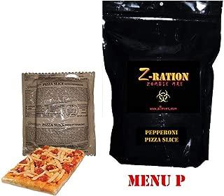 MRE Z-Ration (Zombie MRE) Custom Meals Ready to Eat! (MENU P - Pepperoni Pizza Slice)