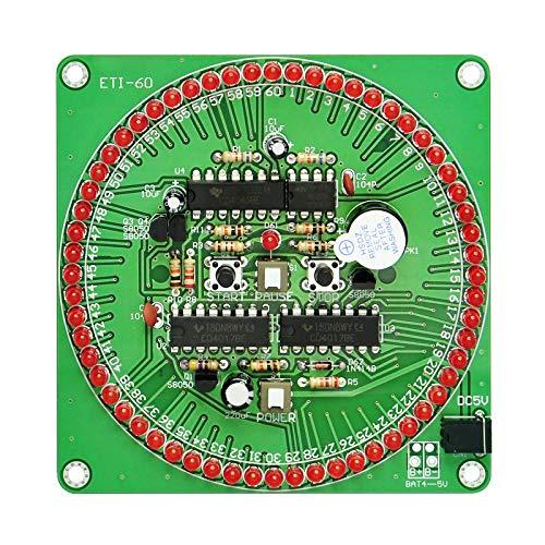 Gikfun Elektronischer Timer für Arduino 61 rote LED EK1904, 60 Sekunden