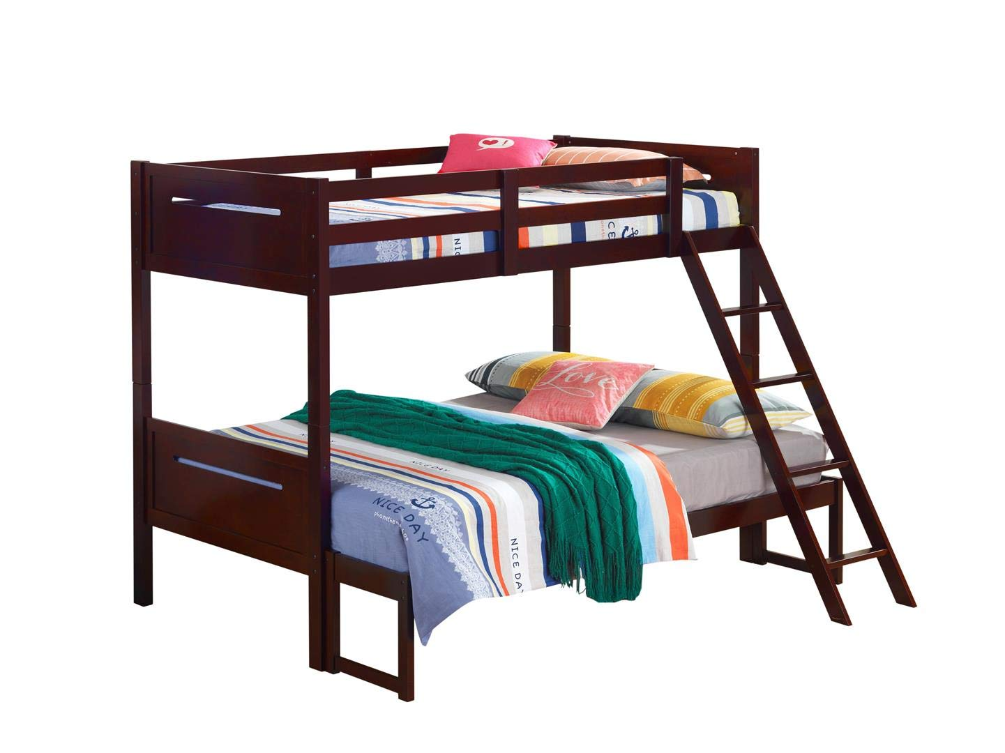 Image result for twin bunk bed black