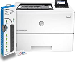 $629 » HP Laserjet Enterprise M506dn Monochrome Laser Printer (F2A69A) with Power Strip Surge Protector and Electronics Basket Microfiber Cleaning Cloth