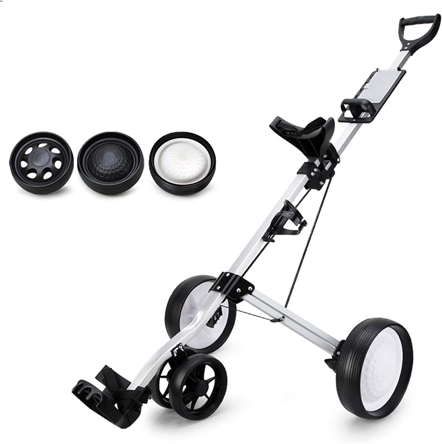 WJY Golf Ranking TOP20 Push Cart Lightweight Collapsible Year-end annual account Car Compact