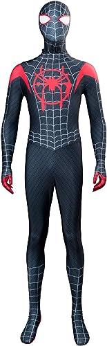 Herren Superhelden Spinnen Halloween Cosplay Kostüm Erwachsene XXXL