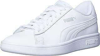 PUMA Women's Smash V2 L Wht-wht Shoes