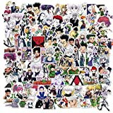 DIWSO Hunter X Aufkleber 100PCS Japanische Cartoon Anime Aufkleber wasserdichte Vinyl Aufkleber für Kinder Jugendliche Erwachsene Wasserflasche Laptop Koffer Gepäck Skateboard