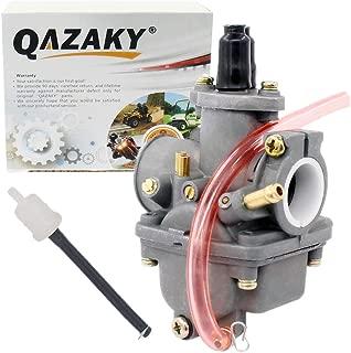 QAZAKY Carburetor Replacement for Yamaha PW80 Y-Zinger Big Wheel 80 BW80 Lifan Dirt Bike 1983-1986 1987 1988 1989 1990 1991 1992 1993 1994 1995 1996 1997 1998 1999 2000 2001 2002 2003 2004 2005 2006