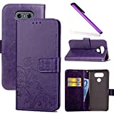 COTDINFOR LG G6 Case Wallet Bookstyle Pu Leather Flip