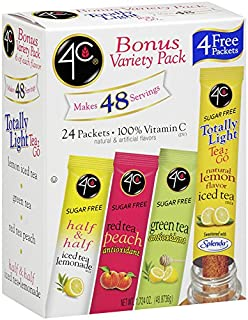 4C Iced Tea Stix Variety Pack 24 ct. (Pack of 3)