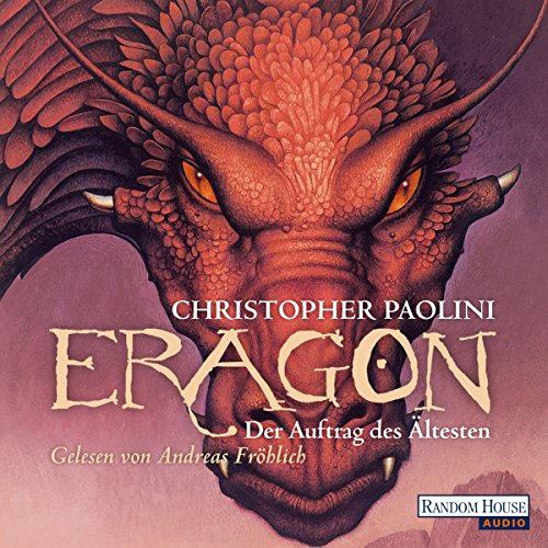 Eragon 2 audiobook cover art