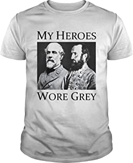 my heroes wore grey
