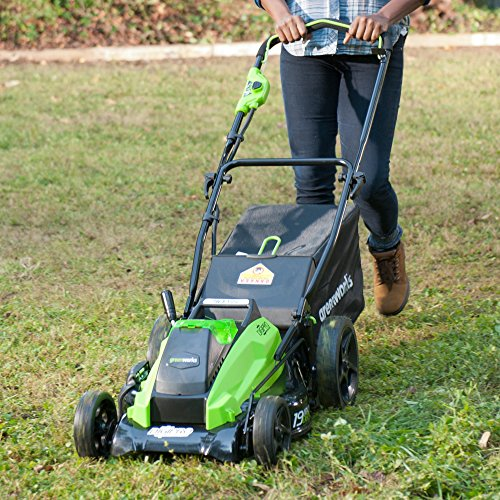 Greenworks 40V 19inch Cordless Lawn Mower, Battery Not Included 2501302