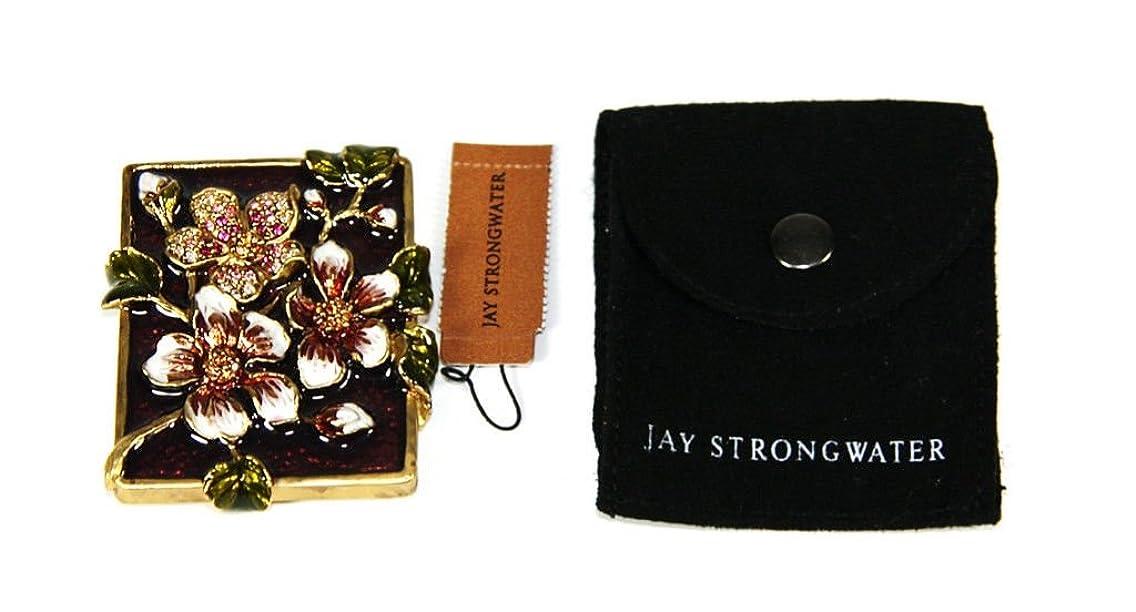 Jay Strongwater Raquel Dogwood Purse Mirror New