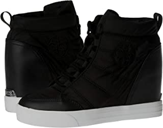 Guess Fashion Sneakers Shoe for Women, 38 EU - Black