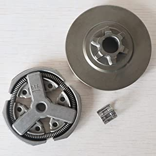 CROSYO 1set 3/8 Batterie d'embrayage;Embrayage;Roulement à l'aiguille Ajustement pour la tronçonneuse Chinoise 3800