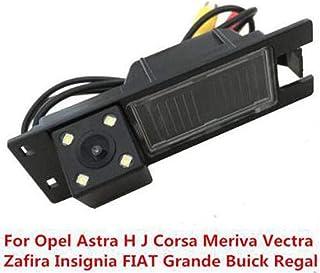 Cikuso C/ámara De Visi/ón Trasera De Marcha Atr/ás De Coche para Opel Astra H J Corsa Meriva Vectra Zafira Insignia Fiat Grande Buick Regal