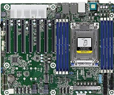 ASRock Rack ROMED8-2T Single Socket SP3 LGA 4094/ DDR4/ SATA3&USB3.1/ V&2GbE/ ATX Motherboard