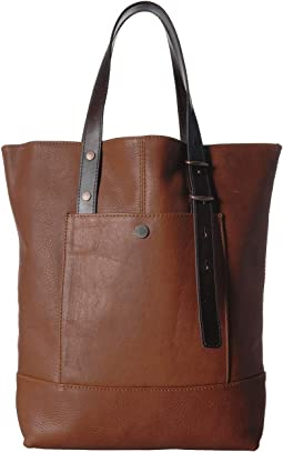 Leather Open Tote