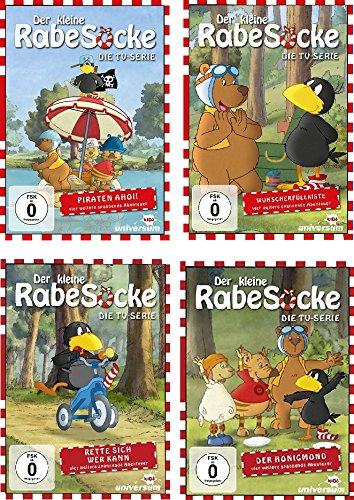 Der kleine Rabe Socke - Die TV-Serie 1-4 (4 DVDs)