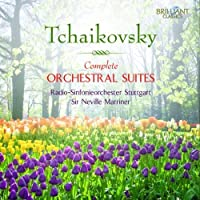 Tchaikovsky: Complete Orchestral Suites by Radio-Sinfonieorchester Stuttgart (2012-05-17)