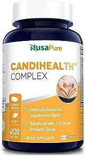 CandiHealth Complex (Non-GMO, Gluten-Free, Vegan) 120 Veggie Capsules