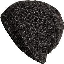 iYBUIA Casual Unisex Warm Baggy Weave Crochet Winter Wool Knit Ski Beanie Skull Caps Hat