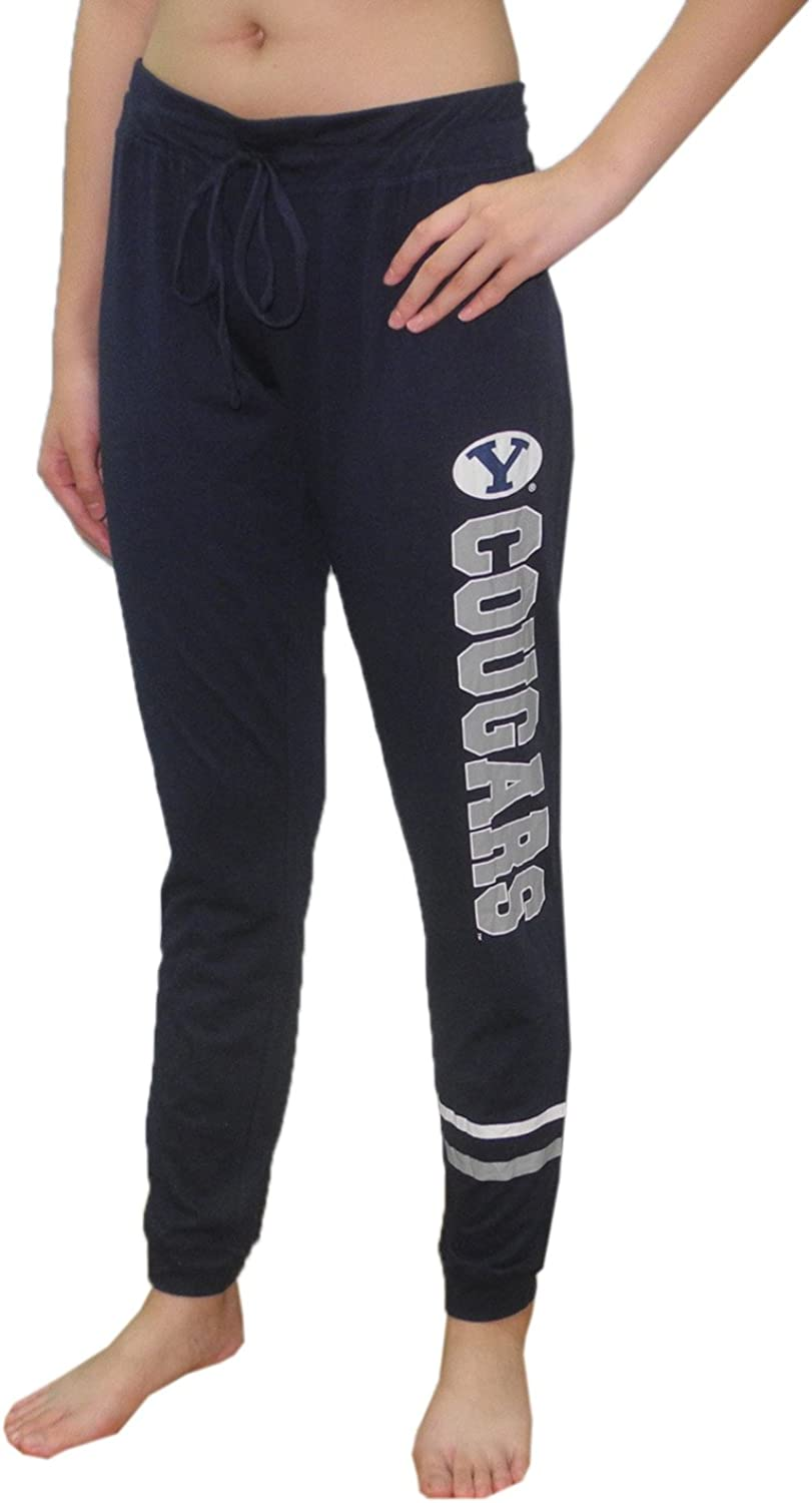 Brigham Young Cougars Womens NCAA Lounge Yoga Pants