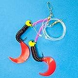 Team Deep SeaOstsee Spezial Twin Twister Meeresvorfach schwarz/japanrot