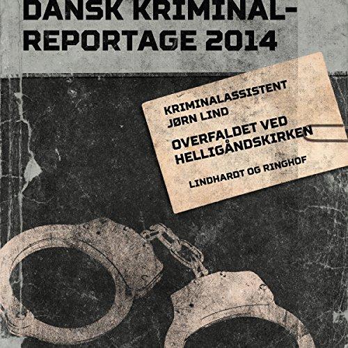 Overfaldet ved Helligåndskirken audiobook cover art
